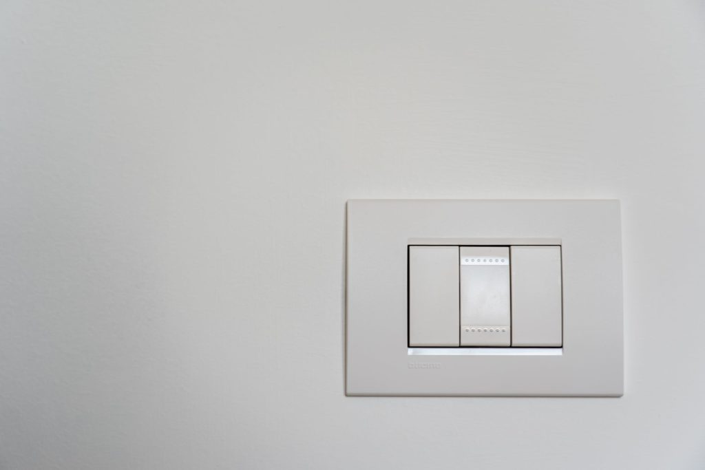Upgrade the light switches and sockets