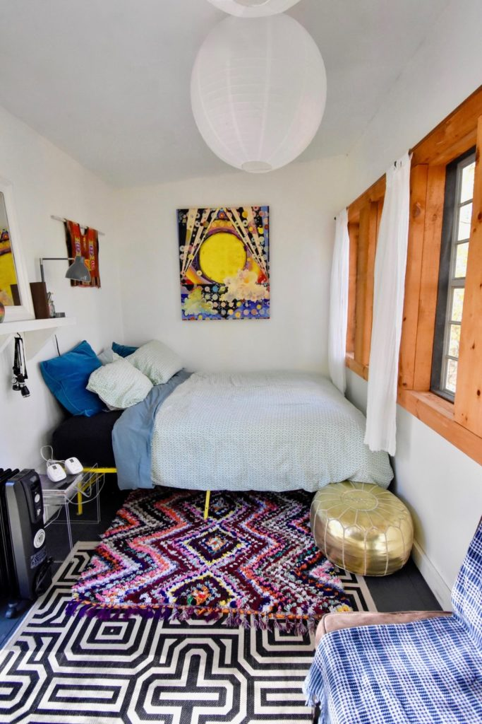 Never out of trend with layered rugs​