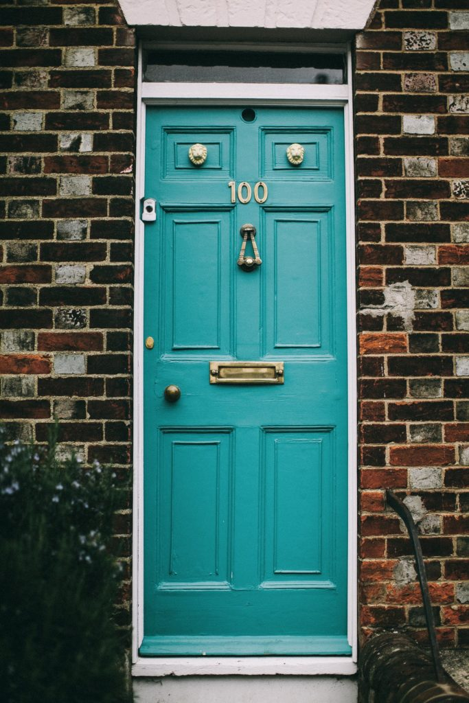 Paint your door the right color​