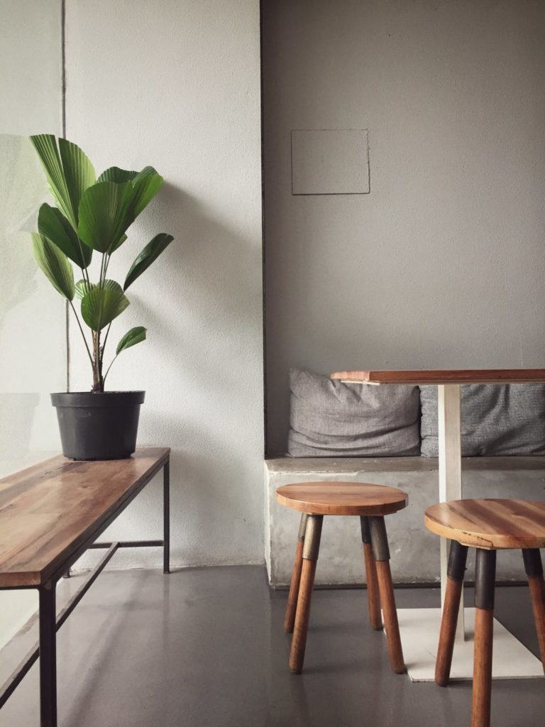 Breakfast nook that says good morning to you​